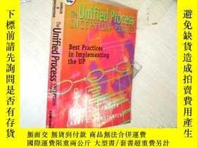 二手書博民逛書店The罕見Unified Process INCEPTION P