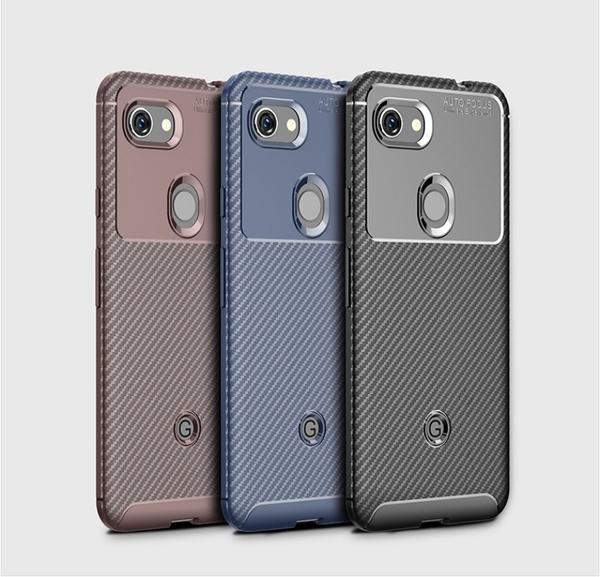 谷歌pixel5 XL甲殼蟲手機殼 Google pixel 4a碳纖維防摔套Pixel 3a Pixel5