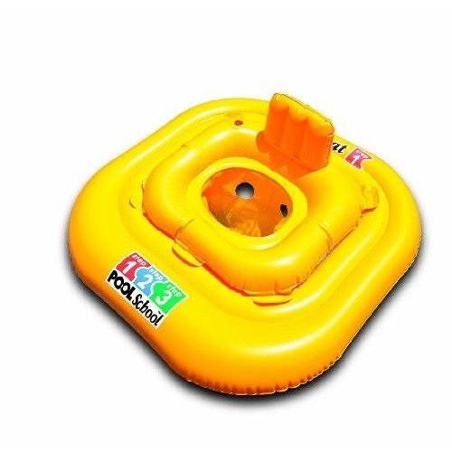 [衣林時尚] INTEX 方型游泳圈 79x79cm 建議1-2歲 15kg 厚0.3mm 56587