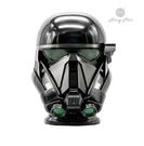 《竹北專業音響店》星際大戰系列  俠盜一號 死亡部隊頭盔 1:1藍牙喇叭
