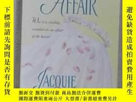 二手書博民逛書店英文原版罕見Whirlwind Affair by Jacqui