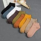 短襪襪子女冬短襪露腳踝淺口日中筒襪純色船襪學院風棉秋冬季莎瓦迪卡