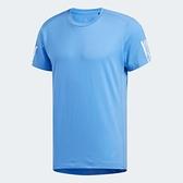 ADIDAS RUN IT TEE 男裝 短袖 慢跑 訓練 透氣 吸濕 排汗 反光細節 藍【運動世界】EJ8086