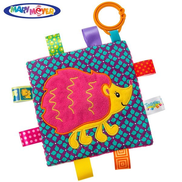 MARY MEYER 標籤動物安撫沙沙紙-小刺蝟 安撫巾