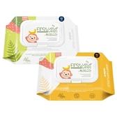 【買3送1贈品】韓國 K-MOM 自然純淨濕紙巾(多功能清潔款)40張【小三美日】圖案隨機出貨