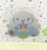 【震撼精品百貨】大耳狗_Cinnamoroll~Sanrio 大耳狗喜拿造型大貼紙-雲#04807