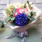 『情人節花束特賣』精緻繡球玫瑰花束