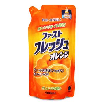第一石鹼中性洗碗精補充包(柑橘香)500ml
