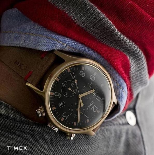 TIMEX 天美時 TXTW2R96300 MK1 玫瑰金 計時錶 /42mm
