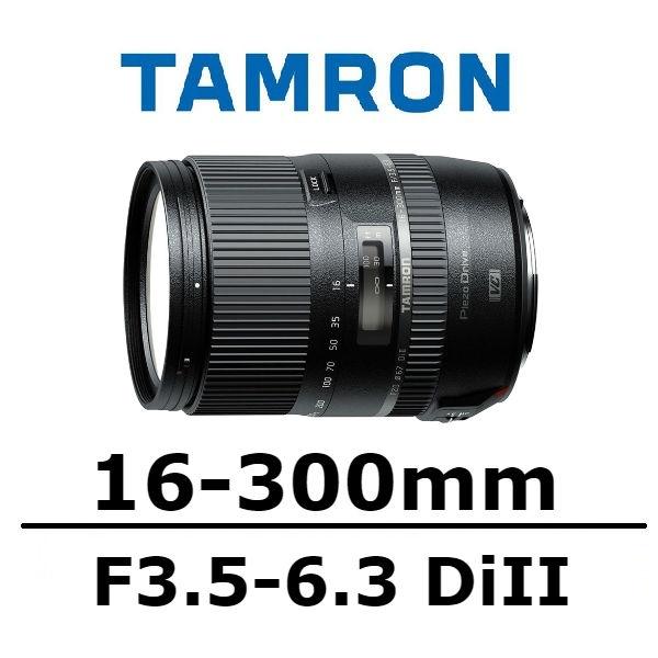 【南紡購物中心】TAMRON 16-300mm F/3.5-6.3 DiII B016 [公司貨]
