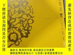 二手書博民逛書店USHER罕見IN A NEW EPOCH 2001:開創新紀