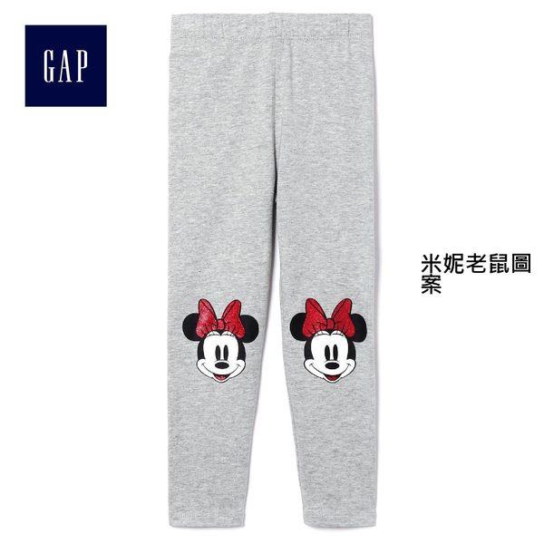 Gap x Disney女嬰幼童 迪士尼系列米妮印花打底裤 382140-米妮老鼠圖案