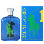 RALPH LAUREN BIG PONY #1 馬球男性淡香水-運動款 125ml (效期2020.05)