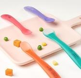 寶寶矽膠勺嬰兒勺子餐具新生兒喂水軟頭勺兒童輔食碗勺 歐韓流行館