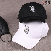 運動帽-暗黑風高街原創嘻哈帽子 男女街舞運動創意刺繡鴨舌帽棒球帽 滿千89折限時兩天熱賣