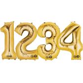 16吋金色數字鋁箔氣球(不含氣)-0到9