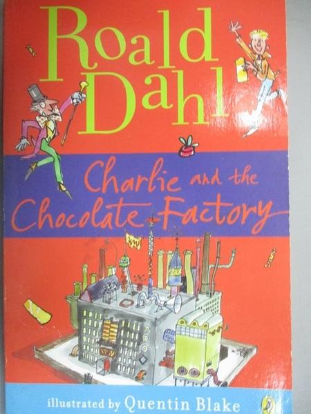【書寶二手書T1/原文小說_LMN】Charlie and the Chocolate Factory_DAHL, ROALD