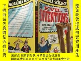 二手書博民逛書店Evil罕見inventions : 邪惡的發明 .,Y200392