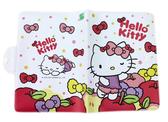 【卡漫城】 Hello Kitty 白底 蘋果 防水 護照套 ㊣版 蝴蝶節 證件套 可扣式 卡片套 收納本 護照包