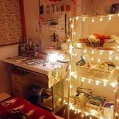 LED氣泡球水晶球小彩燈閃燈串燈圣誕寢室宿舍房間臥室浪漫裝飾燈