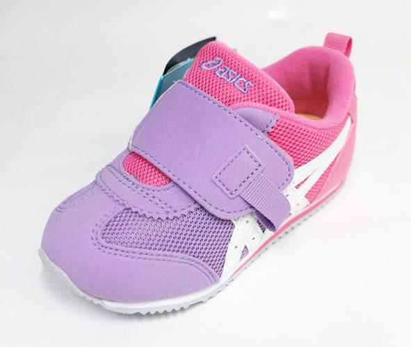 ASICS 亞瑟士 嬰幼 透氣大開口童鞋IDAHO BABY TUB171-3501(紫粉)[陽光樂活]