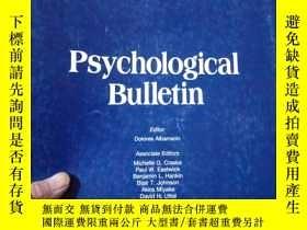 二手書博民逛書店Psychological罕見Bulletin Volume14