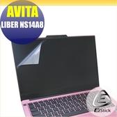 【Ezstick】AVITA LIBER NS14 A8 靜電式筆電LCD液晶螢幕貼 (可選鏡面或霧面)