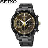 【時間光廊】SEIKO 精工錶 Criteria 光動能 三眼錶 藍寶石水晶鏡面 全新原廠公司貨 SSC343P1