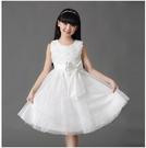 女童禮服洋裝新款六一演出服女童公主裙朗誦服裝兒童洋裝禮服