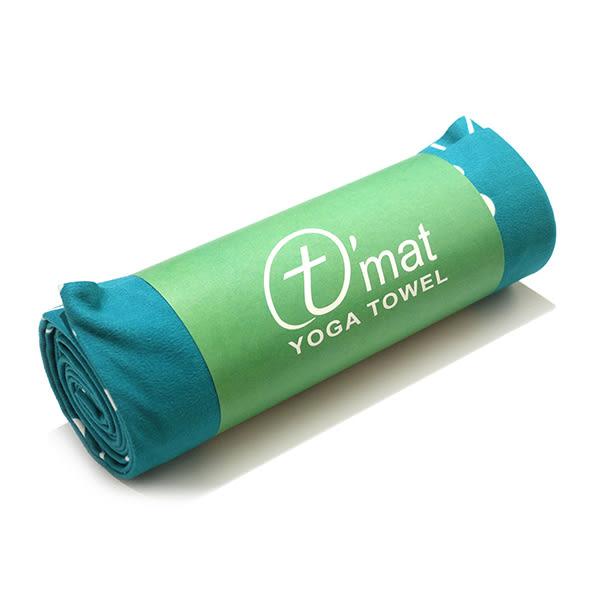 Taimat 瑜珈舖巾 印染超細纖維布鋪巾 - 藍色