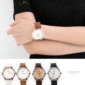 手錶韓系女孩必搭3 玫瑰金手錶大小款 中性款式可搭情侶對錶柒彩年代【NE1840 】單支