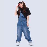 復古時尚連身吊帶褲 STAGE BASIC OVERALLS 藍色/綠迷彩 兩色