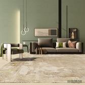 地毯客廳臥室厚 加厚滿鋪房間地毯全鋪免洗家用地墊床邊毯輕奢風wl12269[3C環球數位館]