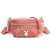 PLAYBOY - 單肩背包-腰包款型 Chic系列 - 粉色