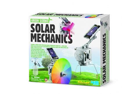 太陽能機械組Solar Mechanics 變化多端,可以創造出六款不同的機器人