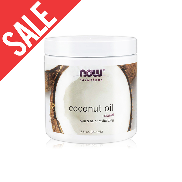 油漬【NOW】純淨椰子油(7oz/207ml)Coconut Oil Pure 效期2022/06