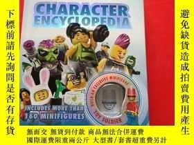 二手書博民逛書店LEGO罕見Minifigures Character Encyclopedia 樂高人仔人物百科全書 英文原版