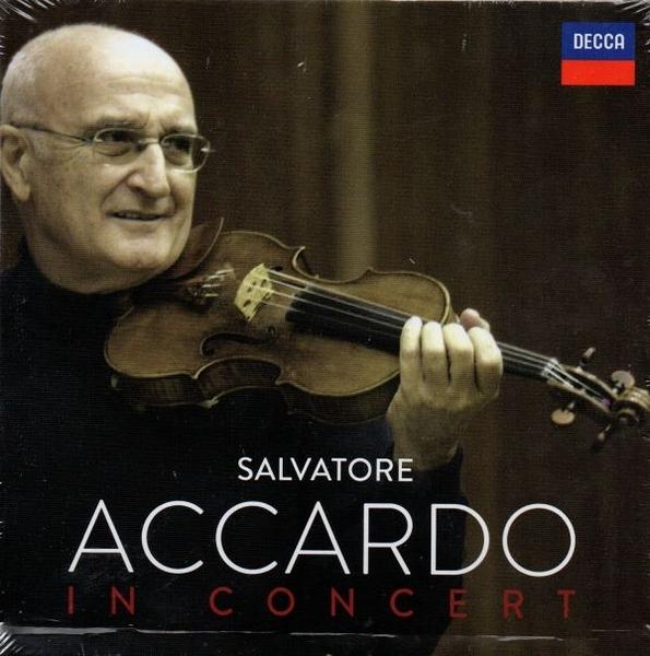 【停看聽音響唱片】【CD】 阿卡多小提琴 SALVATORE ACCARDO IN CONCERT