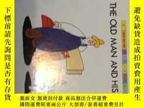 二手書博民逛書店THE罕見OLD MAN AND HIS DOGY15064 韓