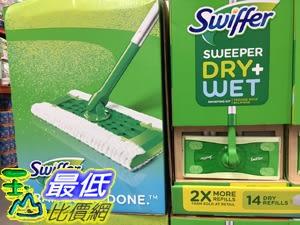 [COSCO代購] C1224485 SWIFFER SWEEPING 乾濕兩用除塵拖把組