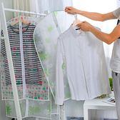衣物防塵套 家用透明罩衣服罩子掛式掛衣袋衣架防塵套 BF11429『男神港灣』