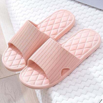 女生拖鞋 夏季室內拖鞋女居家浴室洗澡防滑不臭腳情侶軟底靜音涼拖鞋家用【快速出貨好康八折】