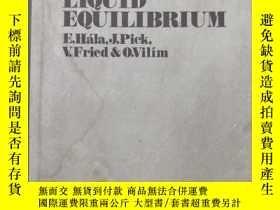 二手書博民逛書店vapour罕見liquid equilibrium( :153