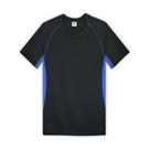 【HENIS】時尚型男彩色拼接吸汗速乾短袖V領衫1件組