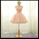 (45 Design) 訂製款 7天到貨洋裝 短禮服 蕾絲背心裙 繡花修身無袖 連身裙 小禮服29