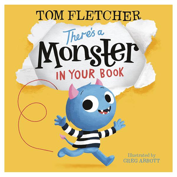 【麥克書店】There Is Monster in Your Book幽默趣味英文繪本