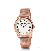 FOLLI FOLLIE  PERFECT MATCH 復古米蘭帶腕錶  WF16R013BPS 玫瑰金