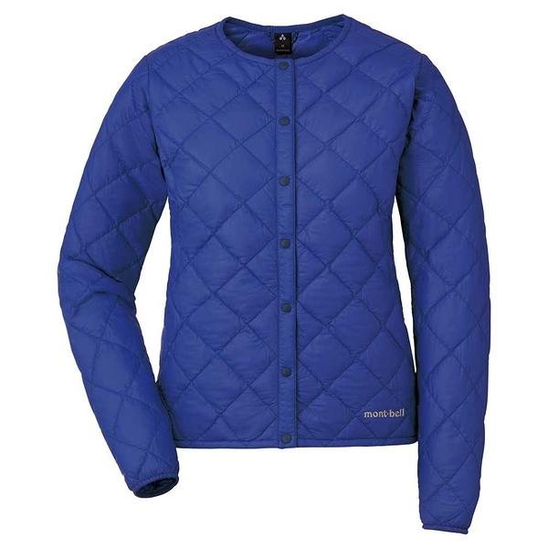 [好也戶外]mont-bell Superior Down Jacket女款圓領羽絨夾克 黑/藍 No.1101503-BK/CBL