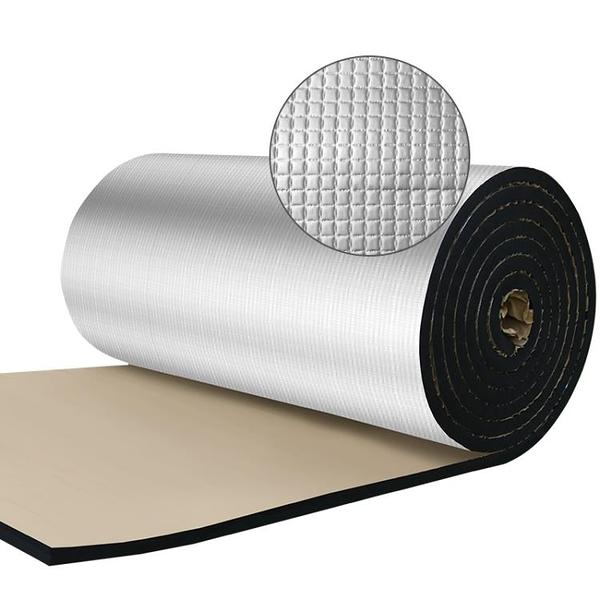 隔熱棉保溫棉自粘耐高溫防火隔熱材料屋頂陽光房頂棚樓頂隔熱板布 快速出貨