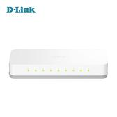 D-Link 友訊 DES-1008A 8埠10/100Mbps 桌上型 有線 網路交換器